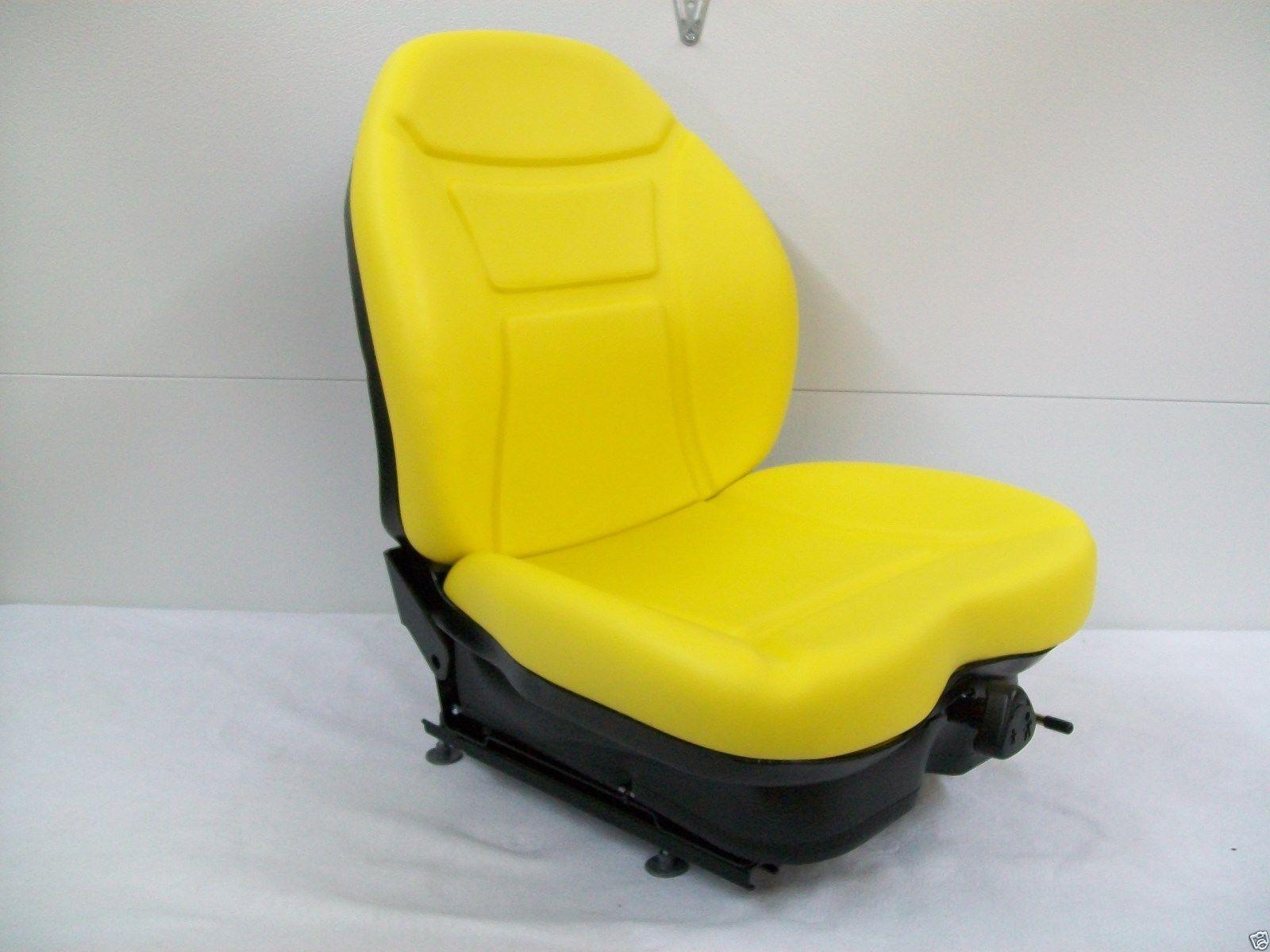 YELLOW SUSPENSION SEAT JD JOHN DEERE FRONT MOWER ZERO TURN GREENS