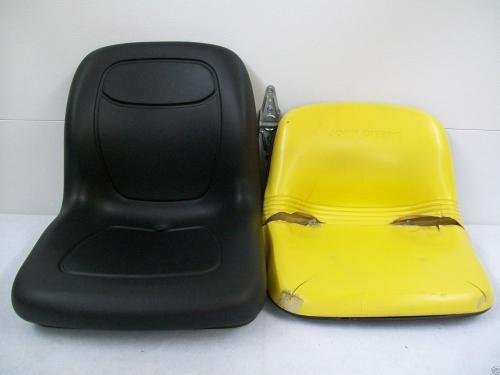 320 John Deere Replacement Seat : Black seat john deere f