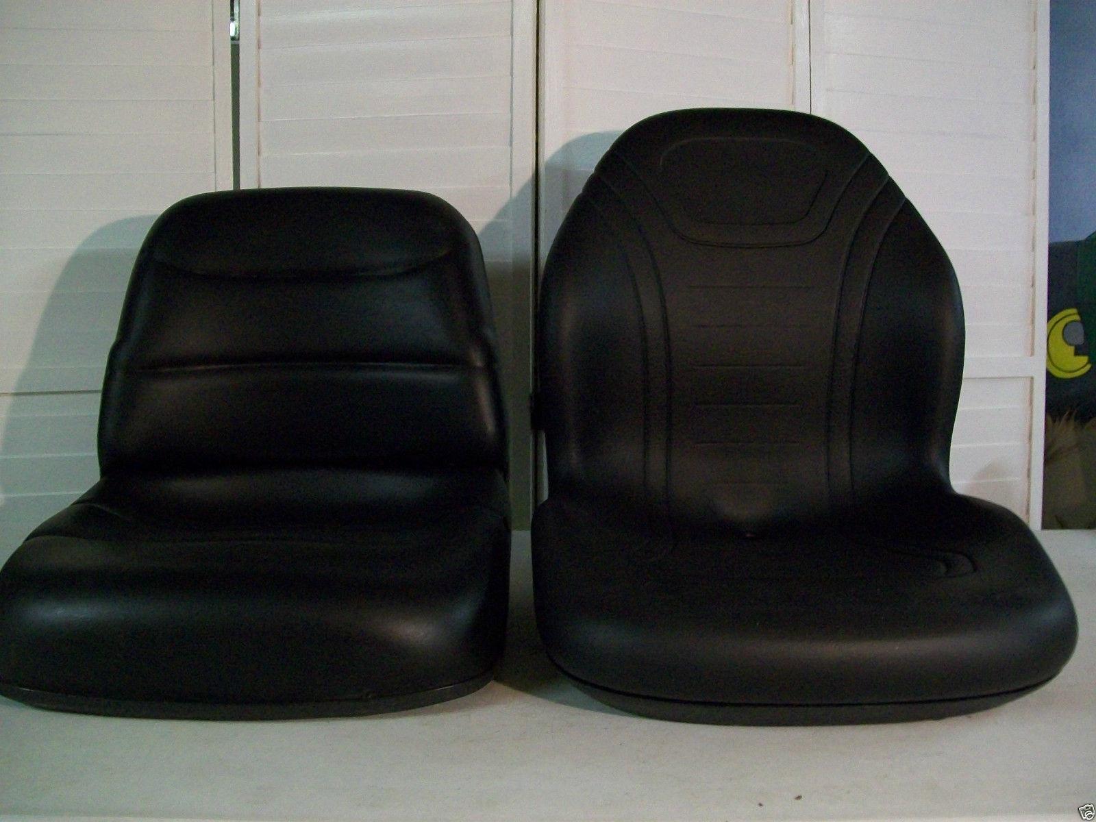 NEW BLACK SEAT FOR FORD NEW HOLLAND TC COMPACT TRACTORS TC25, TC29, TC30,  TC33, TC35, TC40, TC45 #BL