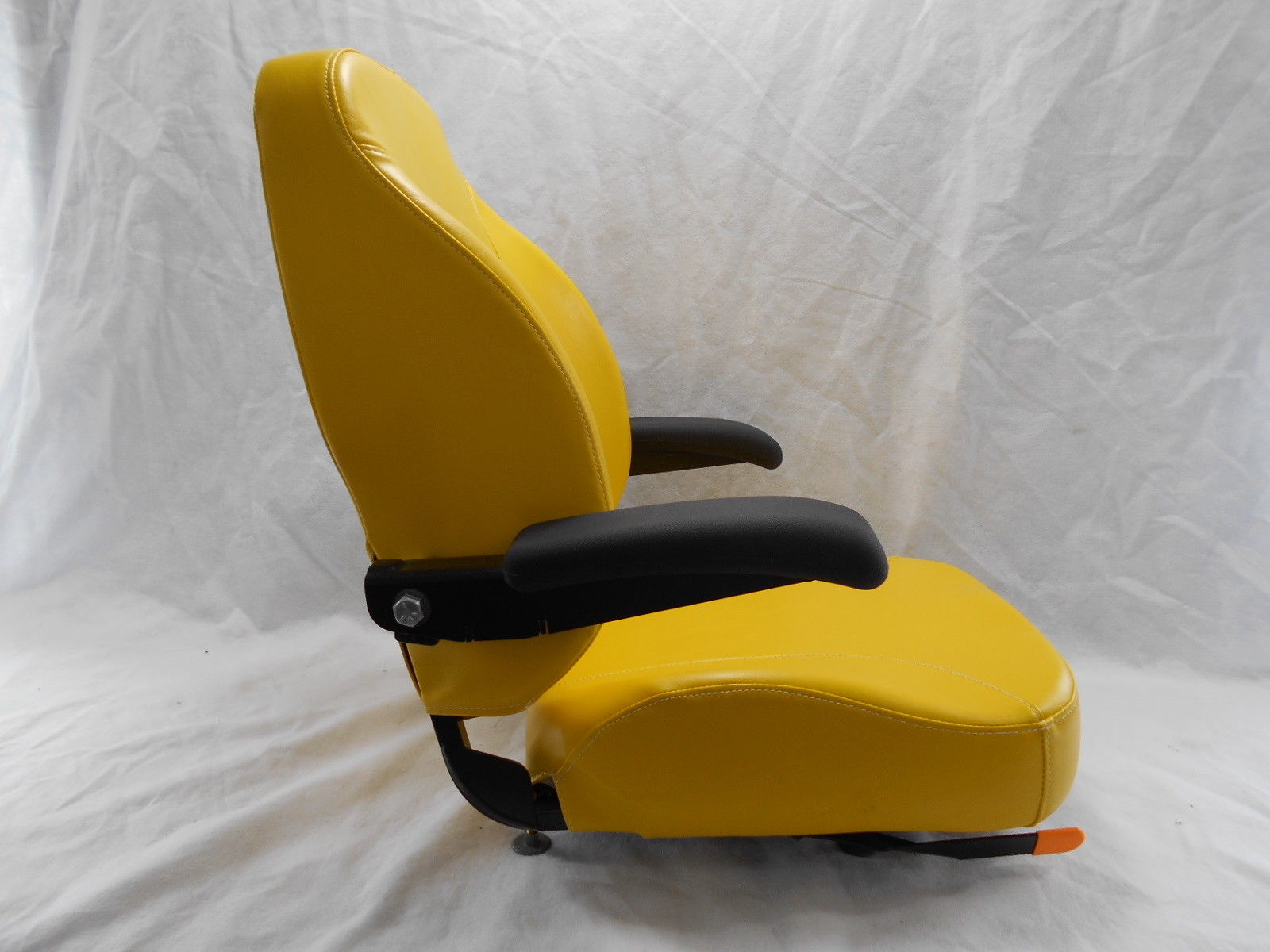 Yellow Ultra High Back Seat C1211 Fits John Deere Ztr Zero Turn