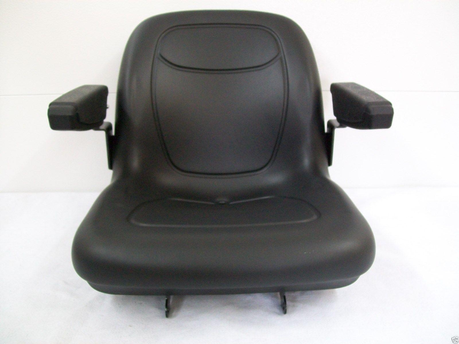 BLACK SEAT JOHN DEERE COMPACT TRACTORS 670, 770, 790, 870, 970, 990,1070,  3005 #JL   Seat Warehouse