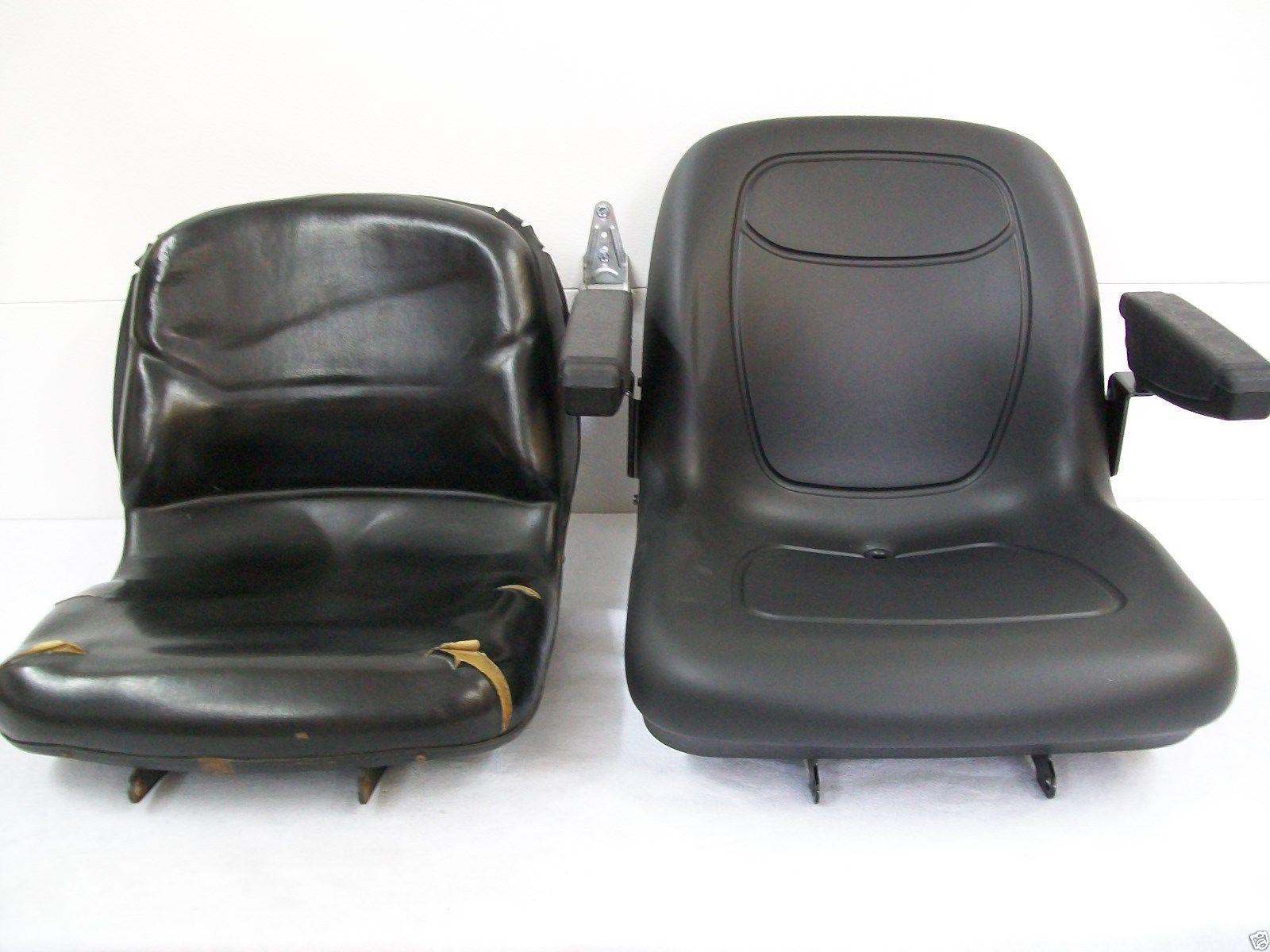 Utility Tractor Seats : Black seat john deere compact tractors