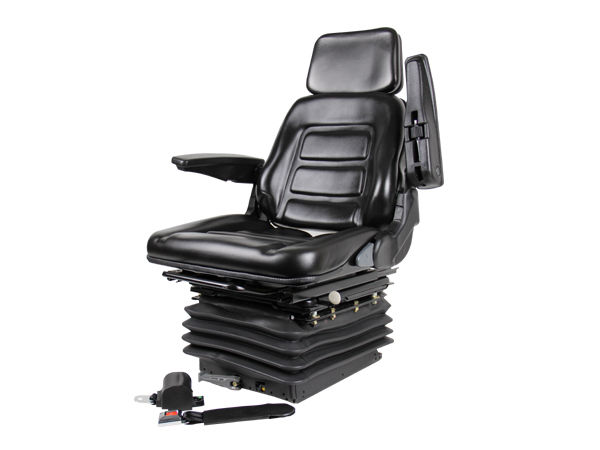 Backhoe Tractor Seat : Suspension swivel seat excavator forklift wheel loader