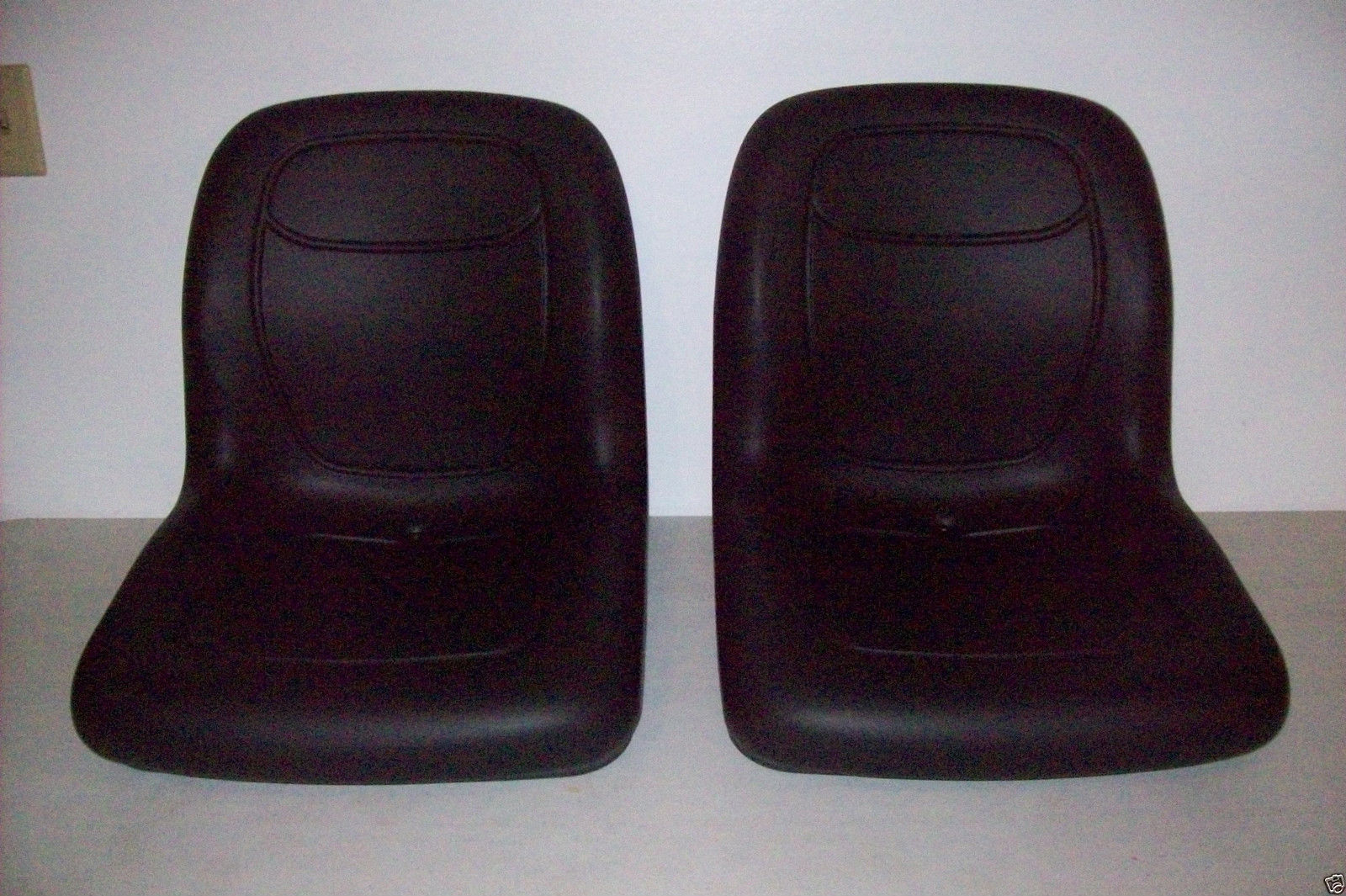 TWO-2-HIGH-BACK-BLACK-SEATS-FOR-ARCTIC-CAT-PROWLER-REPLACES-OEM-1506-925-MM-151888805615