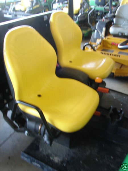 John Deere Gator >> TWO (2) HIGH BACK YELLOW SEATS 625I, 825I, 855D, 550, 850I, 6X4 JOHN DEERE GATORS #JF - Seat ...