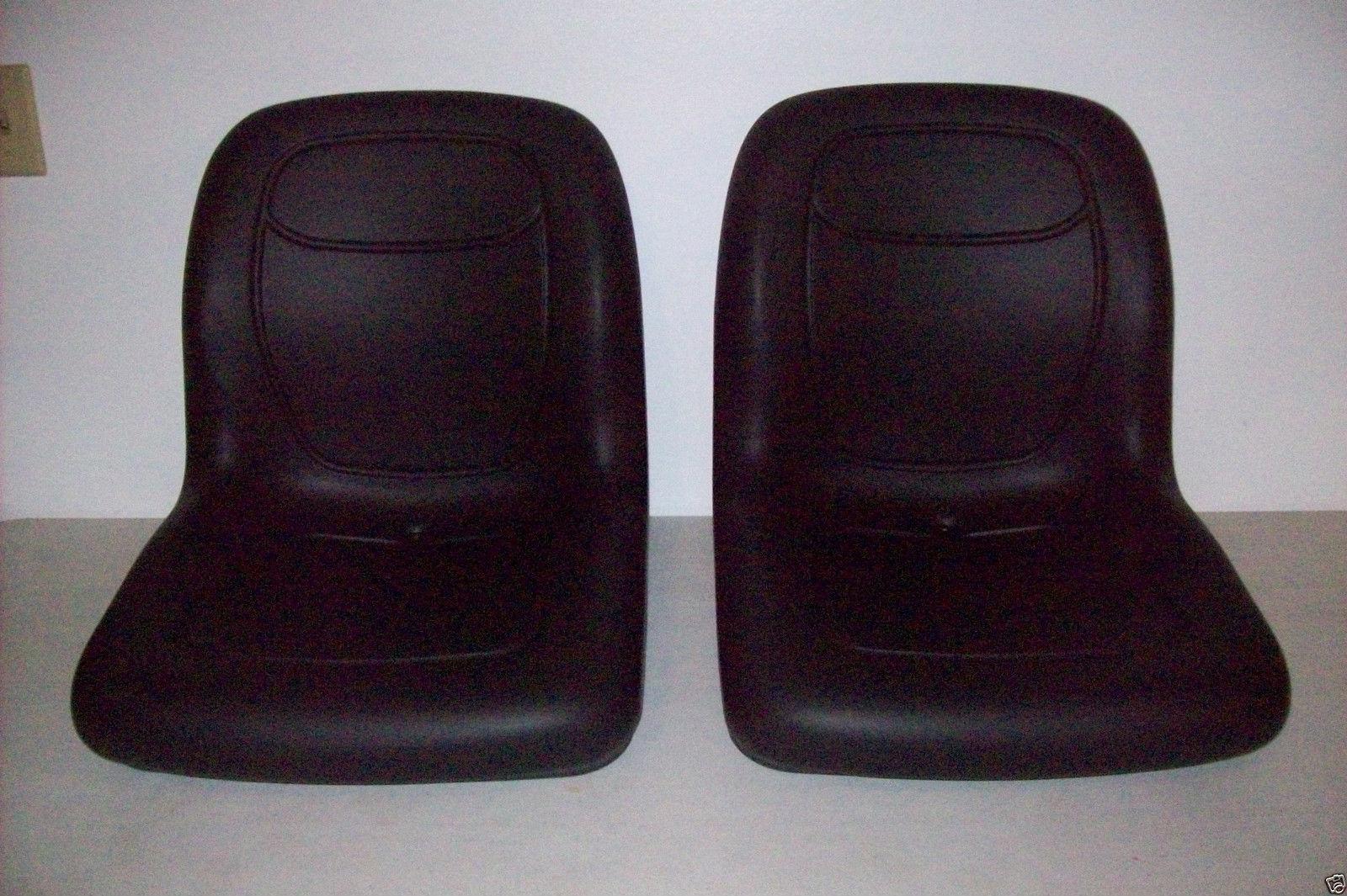 BLACK HIGH BACK SEATS JOHN DEERE TRAIL GATOR GAS DIESEL 4X2 4X4 HPX 6X4 #GI 2
