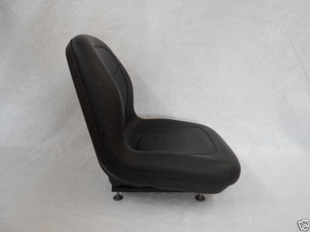 Bobcat Skid Steer Seat : Black seat skid steer loader bobcat case john deere new