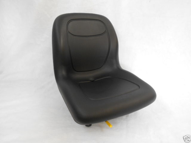 BLACK SEAT SKID STEER LOADER BOBCAT, CASE JOHN DEERE, NEW HOLLAND, GEHL,  MUSTANG #CA