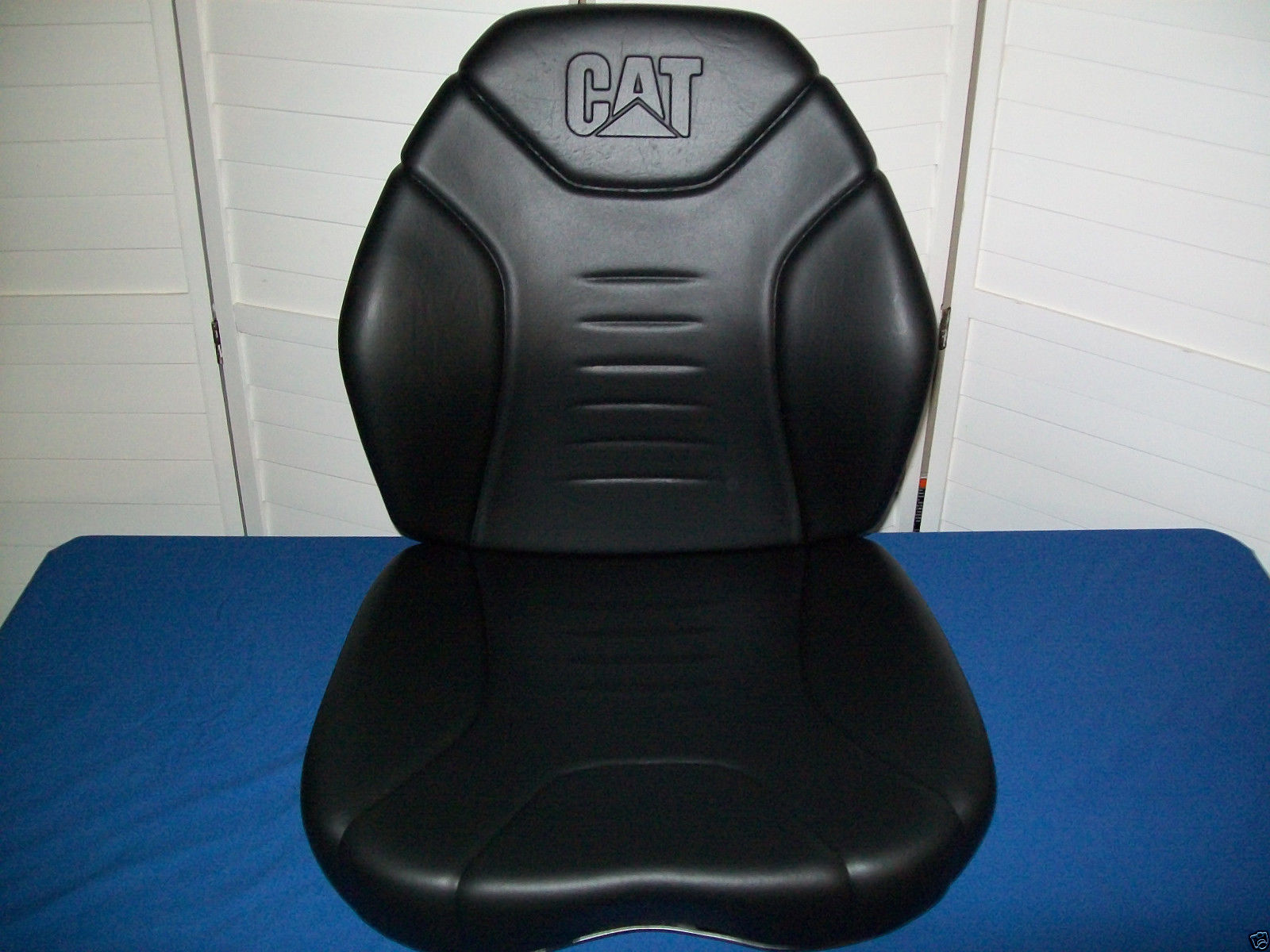 cat caterpillar skid steer suspension seat replacement cushion kit 216b,  226b, 246 #jt