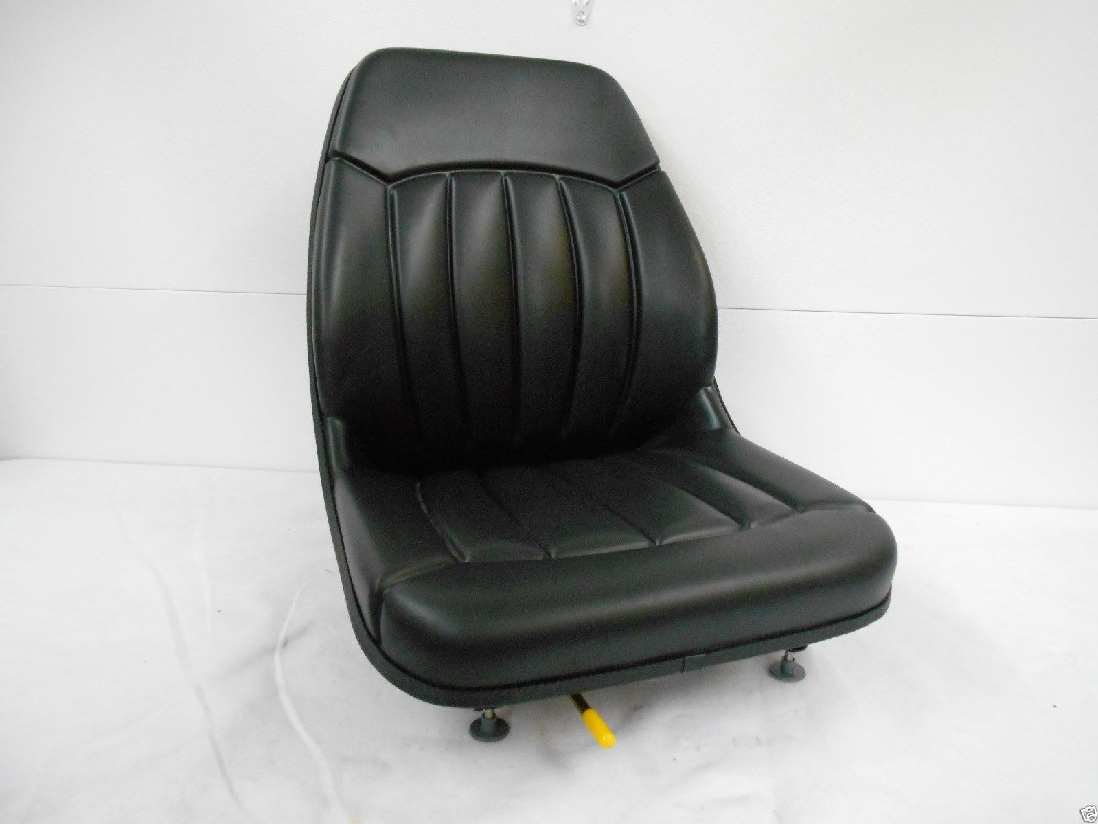 HIGH BACK BLACK SEAT BOBCAT S130, S150, S160, S175, S185, S205, S220, SKID  STEER #EV