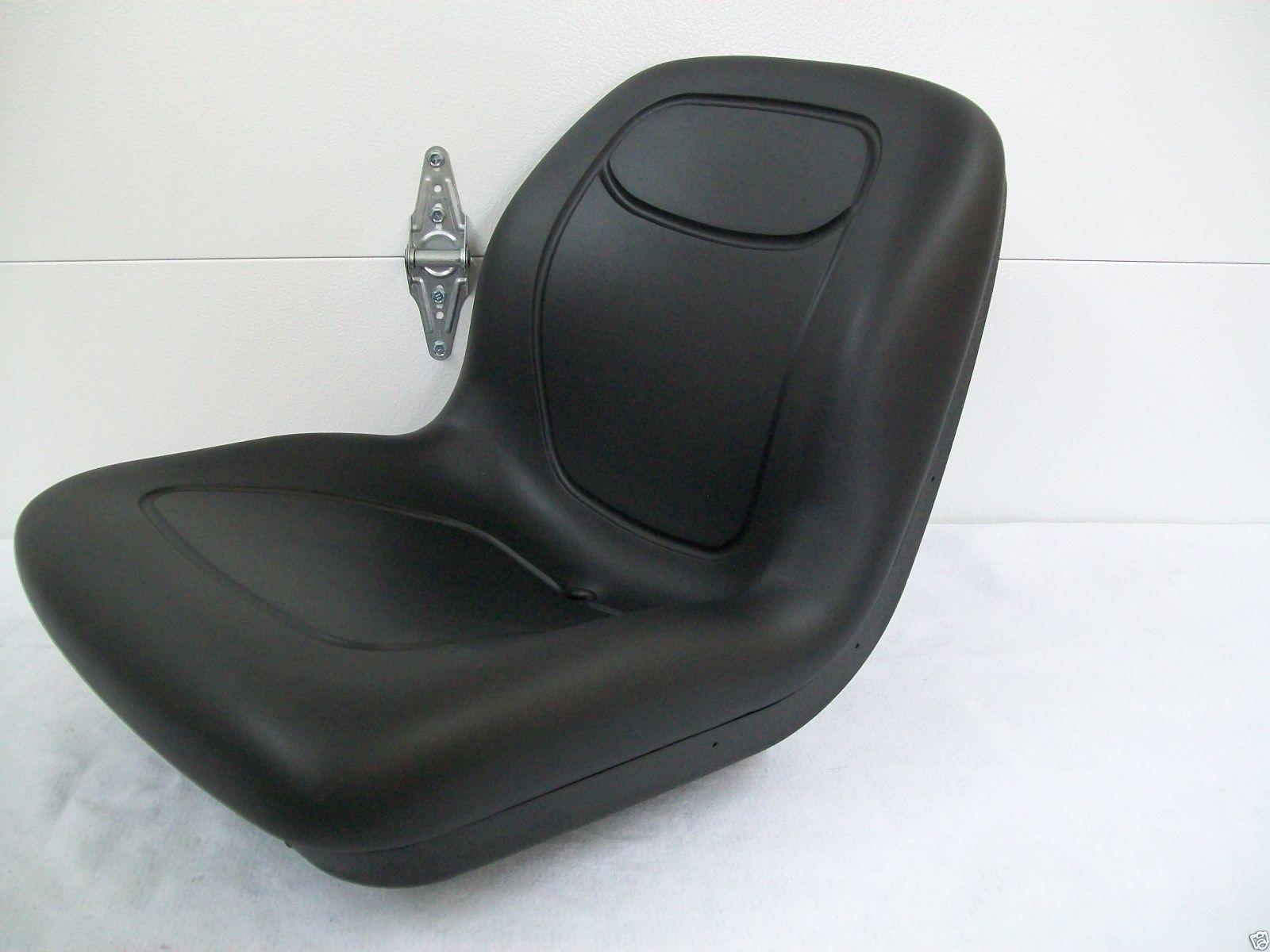 High Back Black Seat Fits John Deere Compact Tractor El