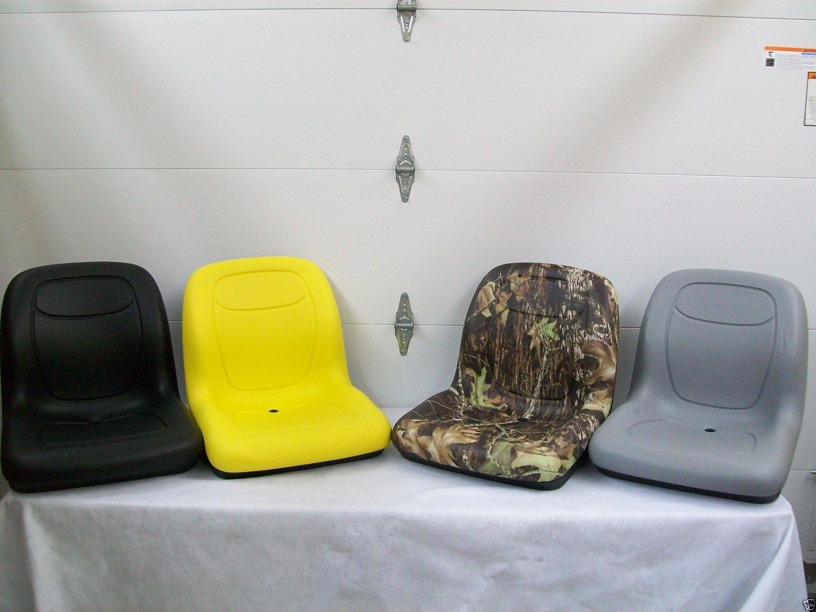 HIGH-BACK-YELLOWBLACKGRAYCAMO-SEATS-LAWN-MOWERS-GATORS-COMPACT-TRACTORS-BO-151274015676