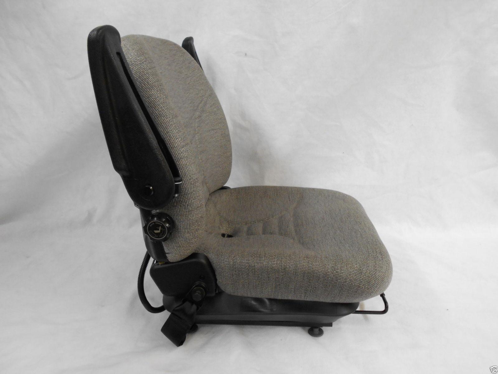 Seat Warehouse Air Ride Gray Fabric Seat Hustler
