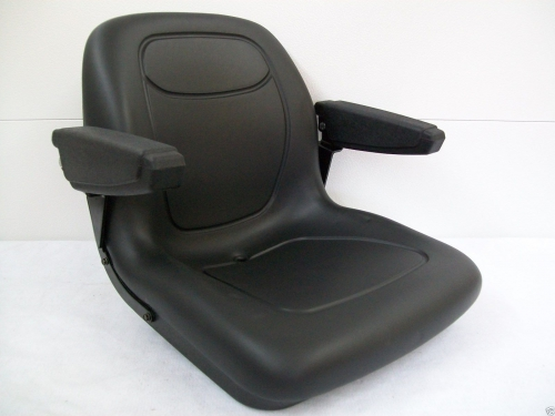 BLACK SEAT CUB CADET Z-FORCE 44, 48, 50, 54, 60 ZERO TURN ...