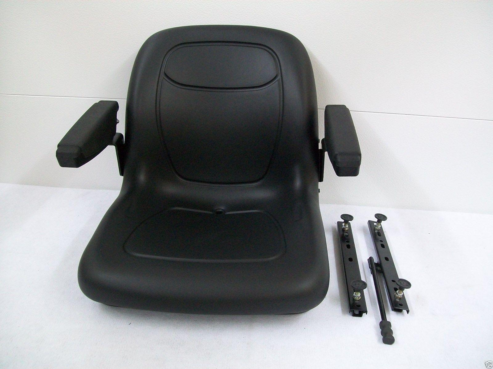 BLACK SEAT CUB CADET Z-FORCE 44, 48, 50, 54, 60 ZERO TURN MOWERS, EXMARK,  TORO, ZTR #KZ