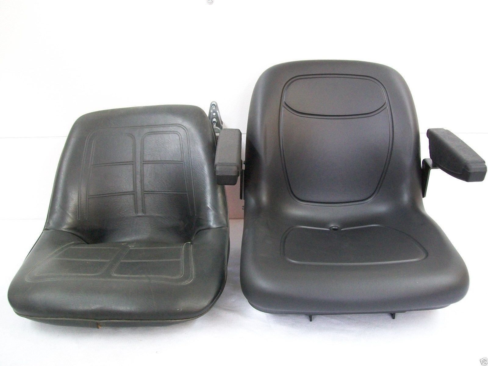 High Back Black Seat Fits John Deere Compact Tractor Jn
