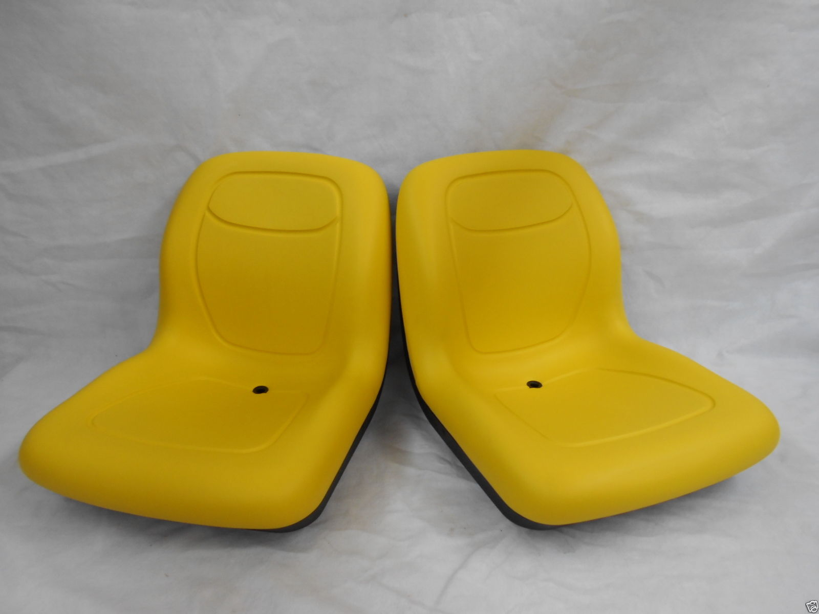 Two Yellow Pivot Style Seats John Deere Cs Cx Gators 39999