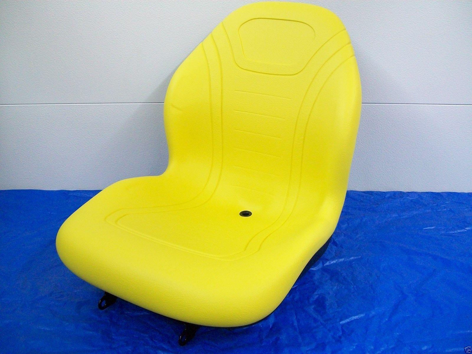 Yellow High Back Seat John Deere 670 770 790 870 970 990 1070
