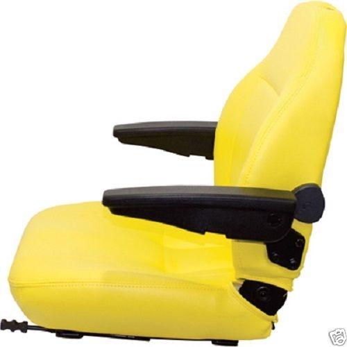 Yellow High Back Seat John Deere M653 M655 M665 F620 F680 F687 717a 727a 737 757 Z Track Ztr Zero Turn Lawn Mower Jk Warehouse