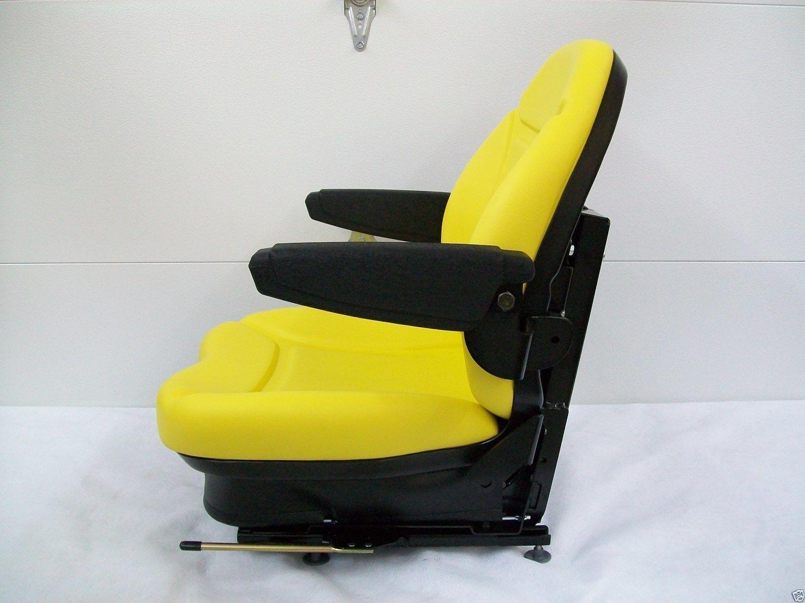 Yellow Suspension Seat Jd John Deere Front Mower Turf