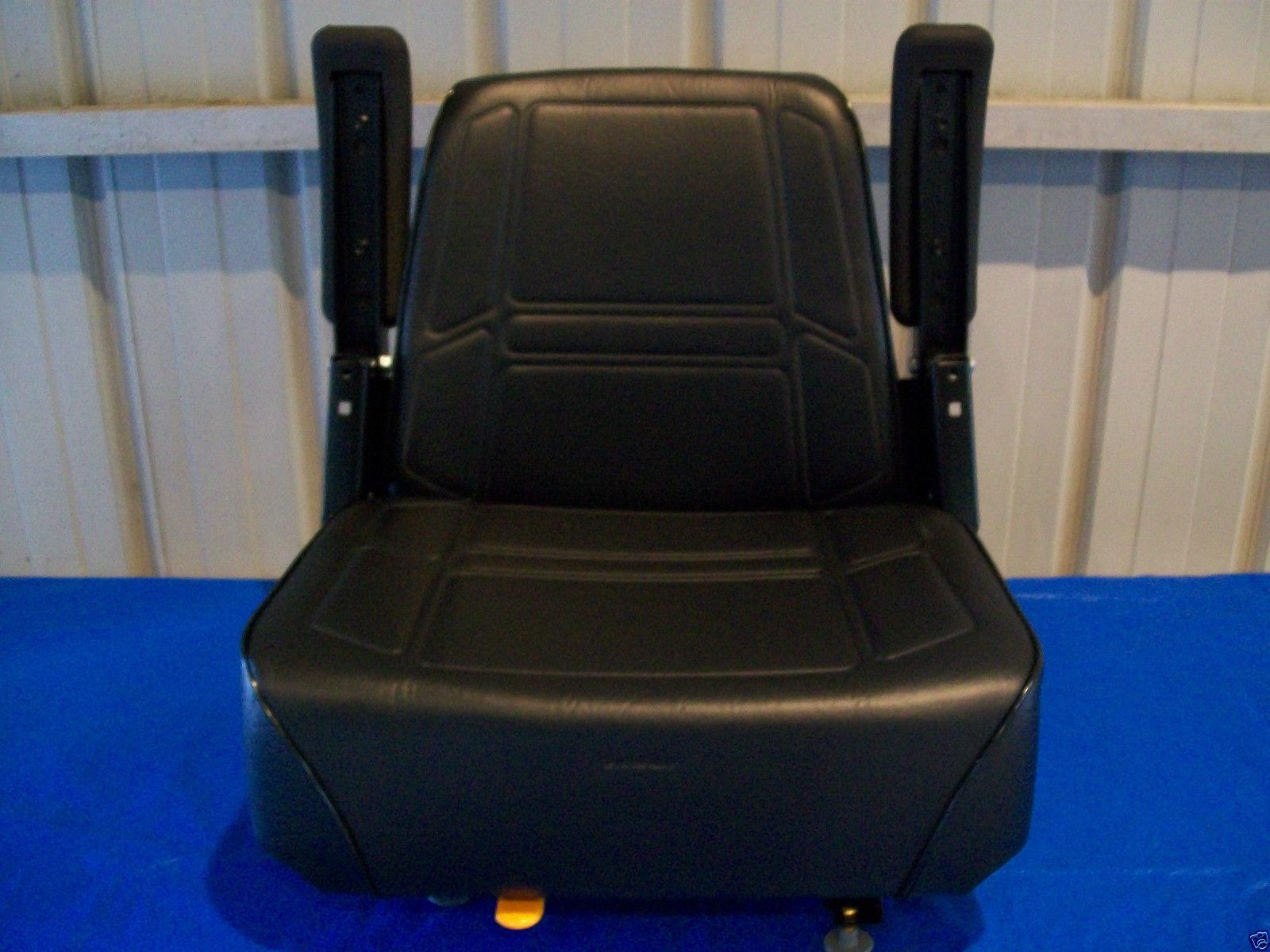 Black High Back Seat Kubota Zd 21 25 28 Zero Turn Mowers