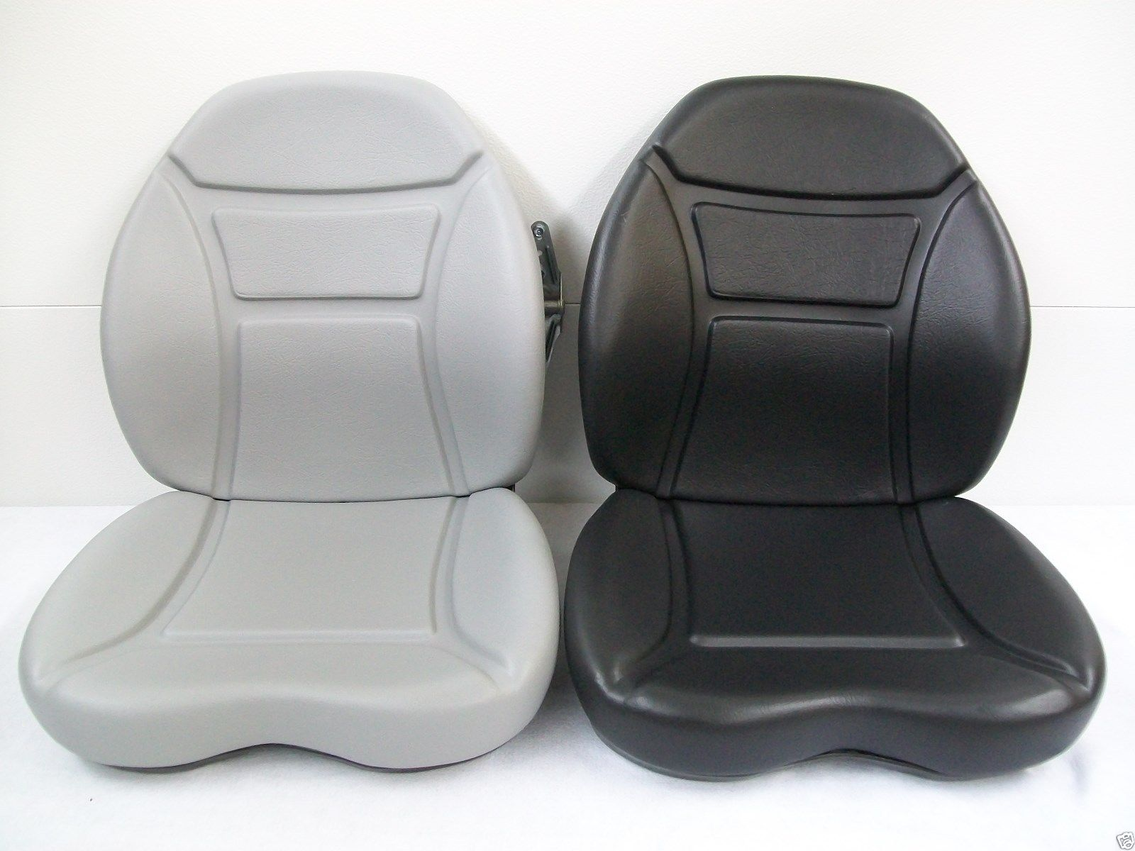 BLACK, GRAY SEAT CUSHION KIT, SUSPENSION SEAT, NEW HOLLAND LS170 ...
