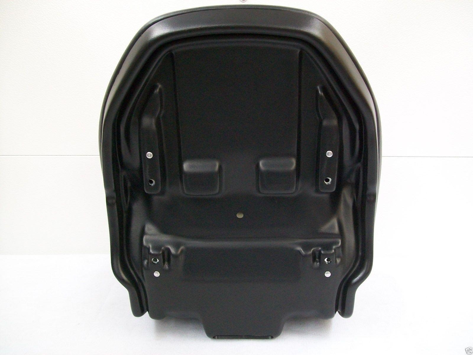 Black Skid Steer Suspension Seat Replacement Cushion Kit for CAT  Caterpillar Models 216B, 226B, 232B, 236B, 242B, 248B, 252B, 257B, 262B,  246C, 256C,