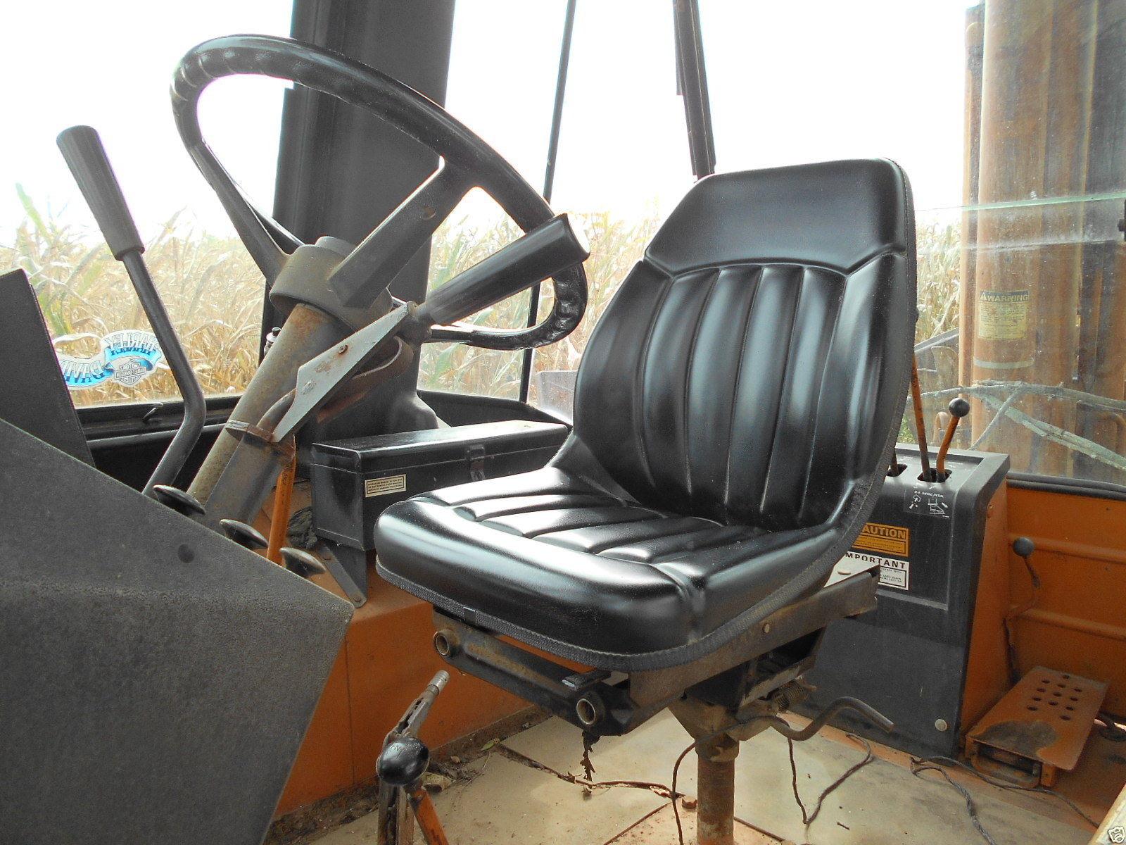 High Back Black Seat Case Backhoe Loader 580c  580d  580e