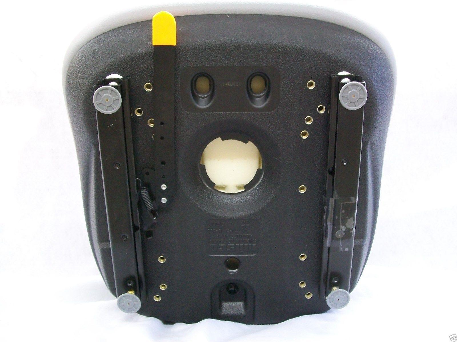 GRAY CASE SKID STEER SEAT 410, 420, 420CT, 430, 435, 440, 440CT, 445,  445CT, 450, 450CT, 465, 1530, 1816, 1818, 1825, 1830, 1835, 1835B, 1835C,  1838,