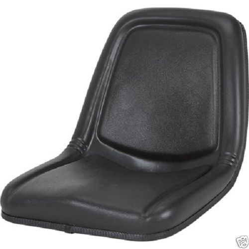 Bobcat Seat Replacement : High back black seat bobcat