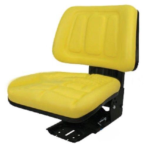 Yellow Fullback Tractor Suspension Seat John Deere 1020