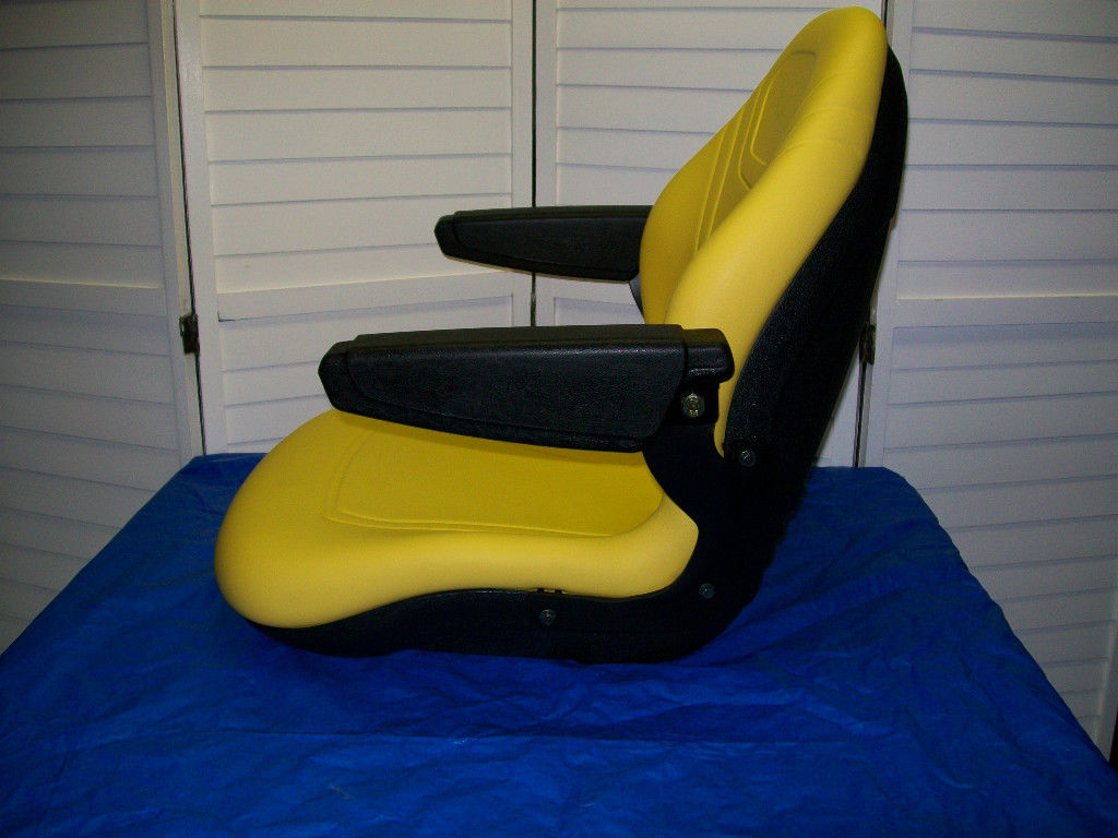 YELLOW HIGH BACK SEAT JOHN DEERE 670 770 790 870 970 9901070