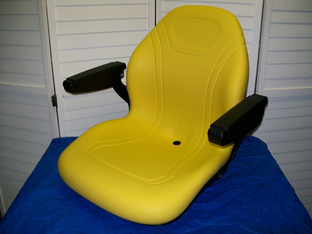 John Deere Tractor Seats Replacement 5310 Model : Yellow high back seat john deere