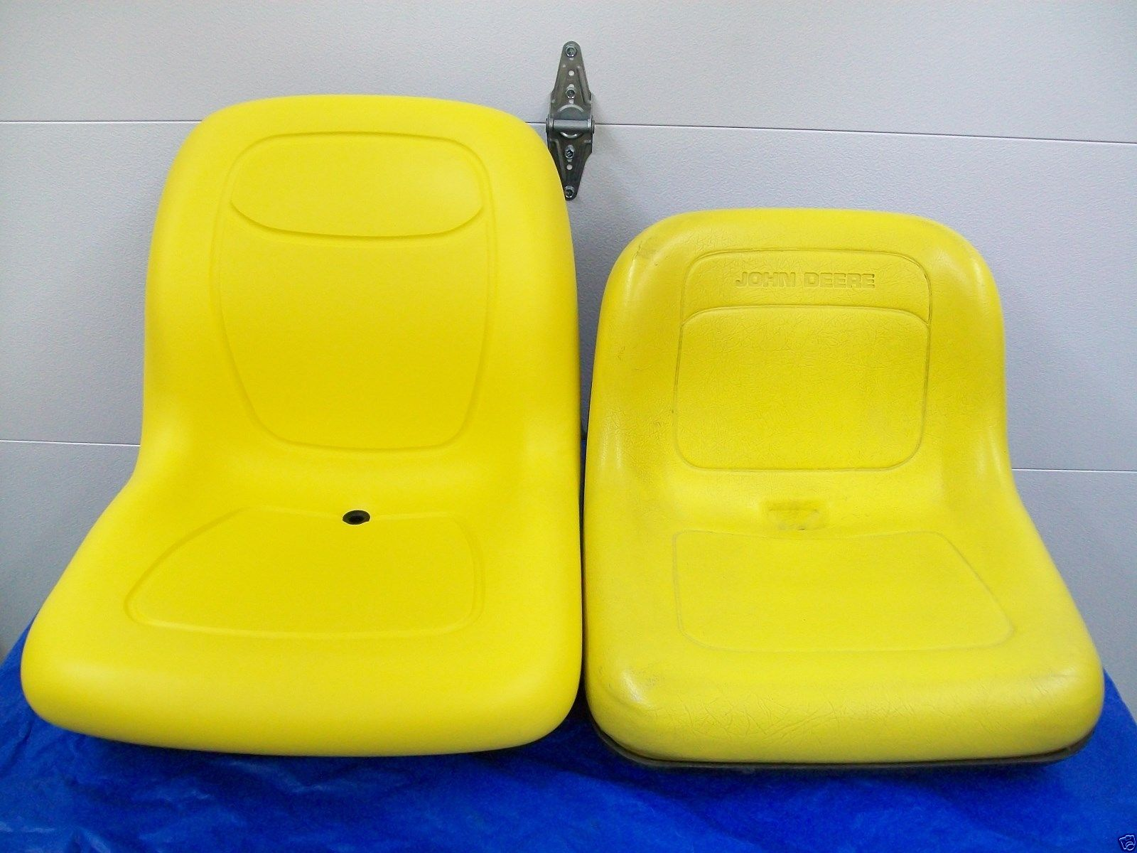 YELLOW REPLACEMENT FLIP UP SEAT FOR JOHN DEERE F710, F725, F735 FRONT  MOWERS #DQ